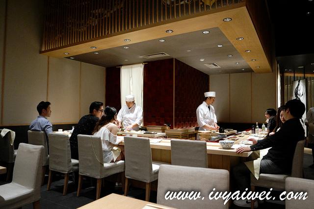 Sushi Azabu @ 4F The Table, ISETAN The Japan Store KL
