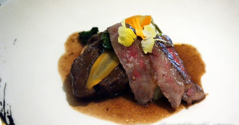 Franco-Asian Cuisine by Guest Chef Justin Quek @ The Library, The Ritz Carlton KL