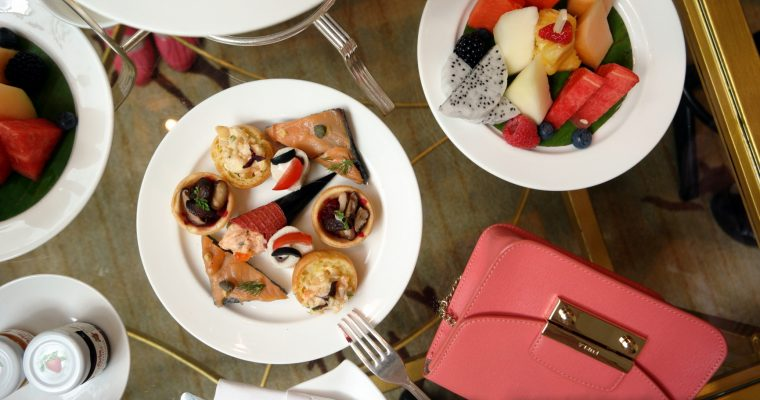 Pink Afternoon Tea & Pink October Specials @ Shangri-La Hotel, KL