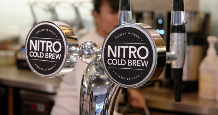 Nitro Cold Brew Coffee @ The Coffee Bean & Tea Leaf