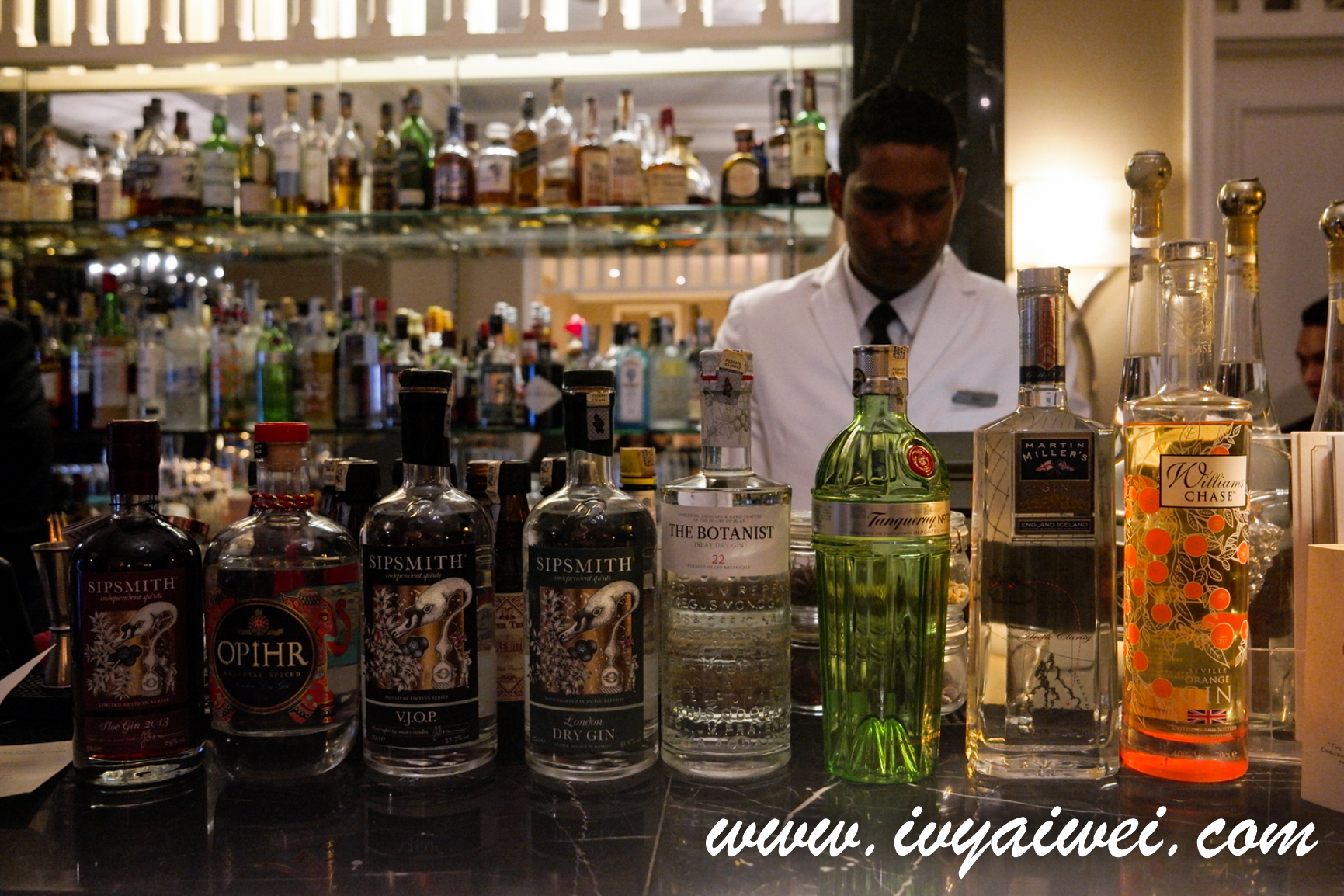 Gin-Inspired at The Smoke House @ The Majestic Hotel KL