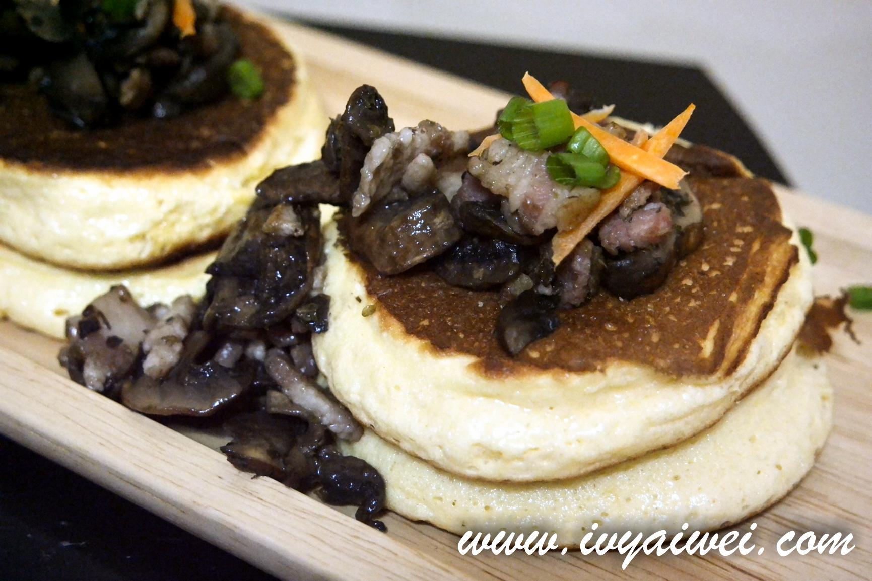 Chefology X McCormick: Fuwa fuwa Savoury Souffle Pancake