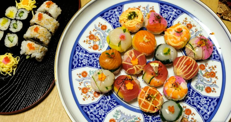 TOKYO: Temari Sushi Class with Japan Cross Bridge by LocalBites