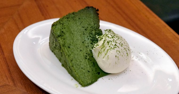 Matcha Cheese Cake @ The Tokyo Restaurant, KL