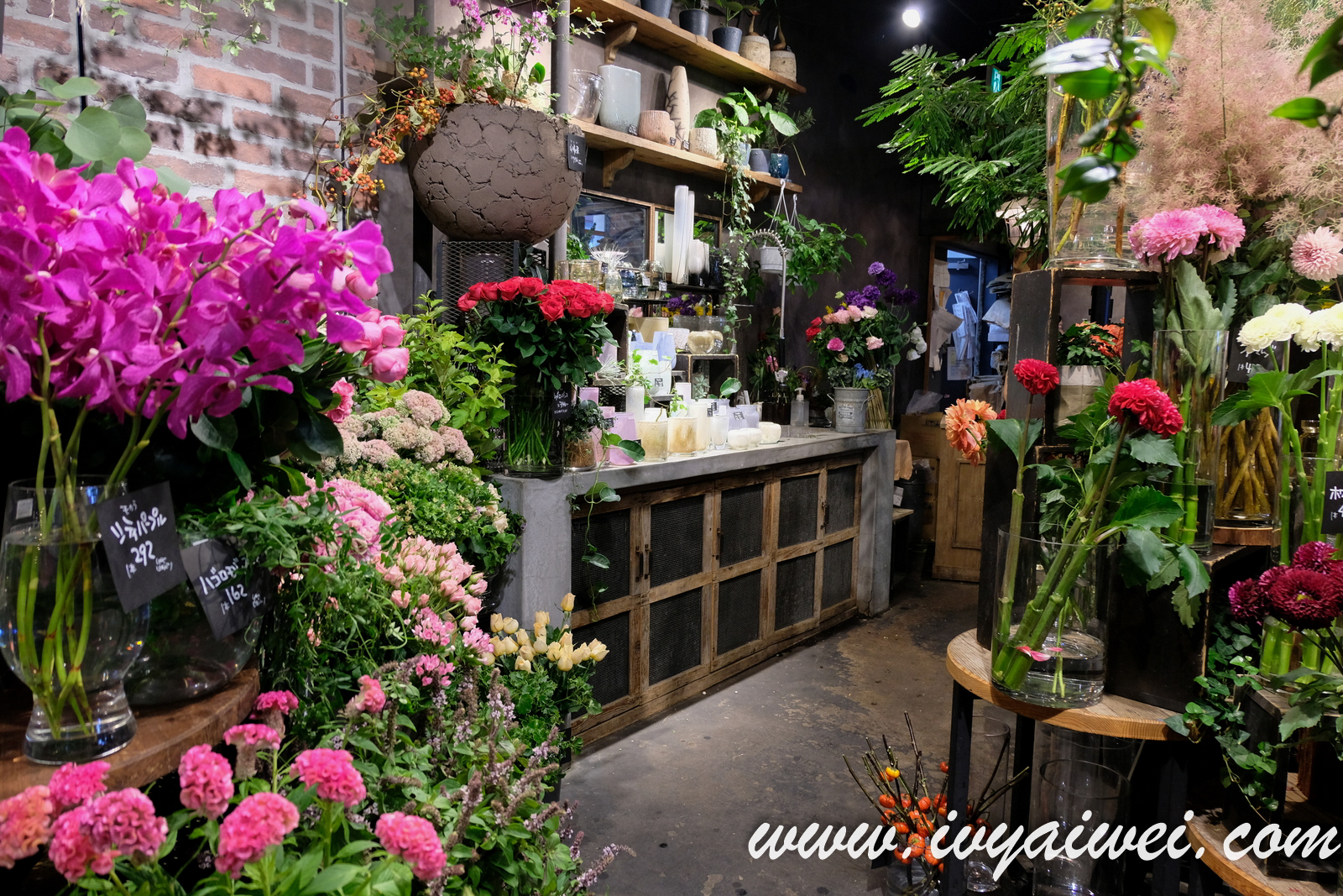 TOKYO: Aoyama Flower Market Tea House @ Akasaka