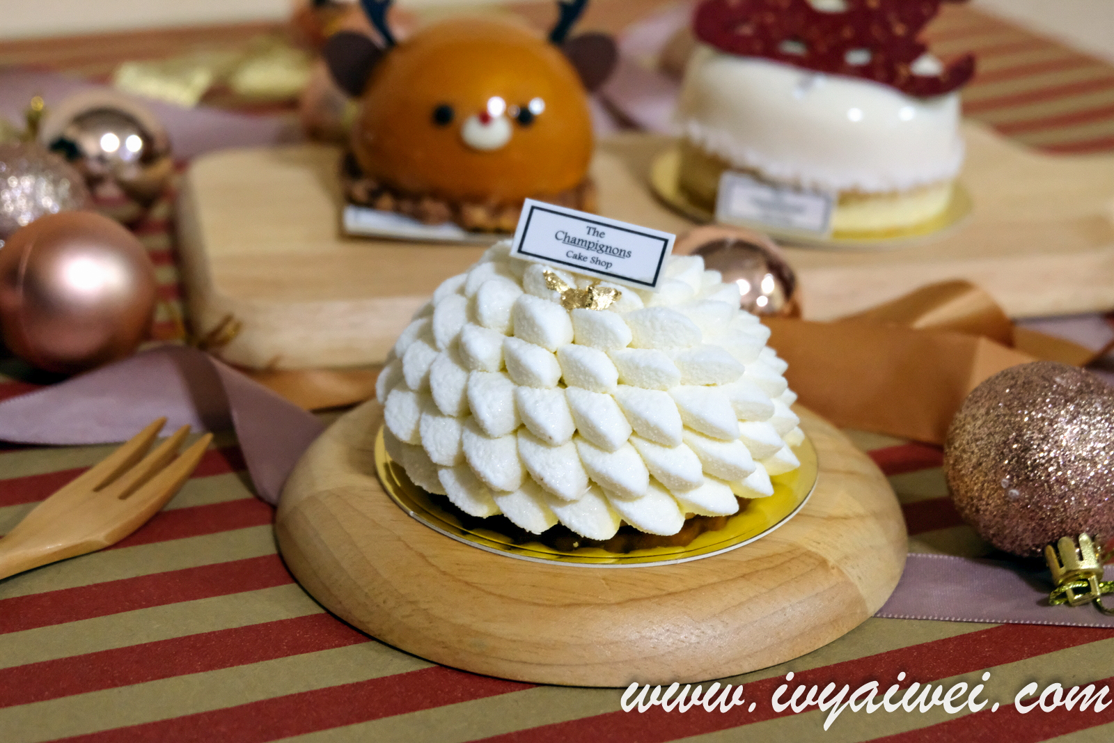 Winter Collection @ The Champignons Cake Shop, Ekocheras